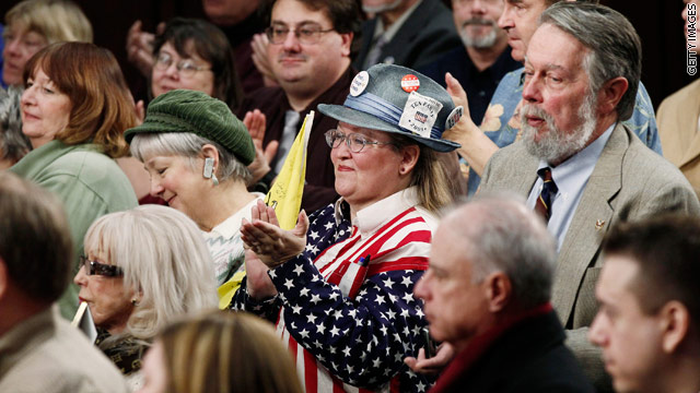 CNN Poll: Unfavorable view of tea party on the rise