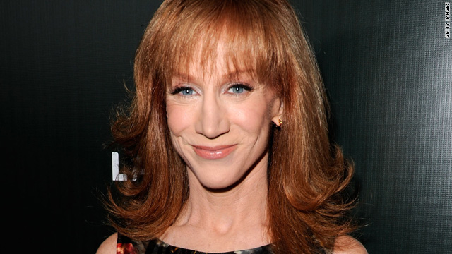 Kathy Griffin shares topless photo of herself with Twitterverse