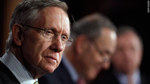 Reid: 'Country doesn't care much about the Tea Party,' cites new CNN poll