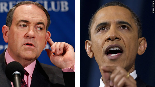 Poll: Huckabee and Obama neck-and-neck in hypothetical race