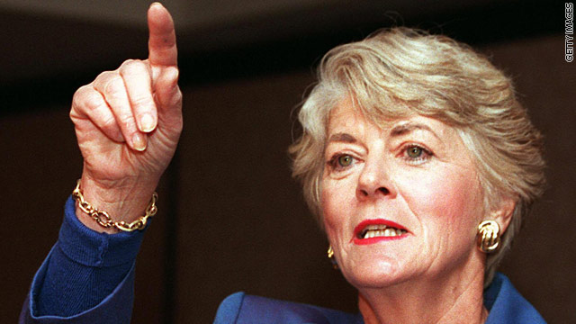 Funeral held for Geraldine Ferraro