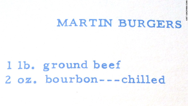 Dean Martin&#039;s Bourbon Burgers