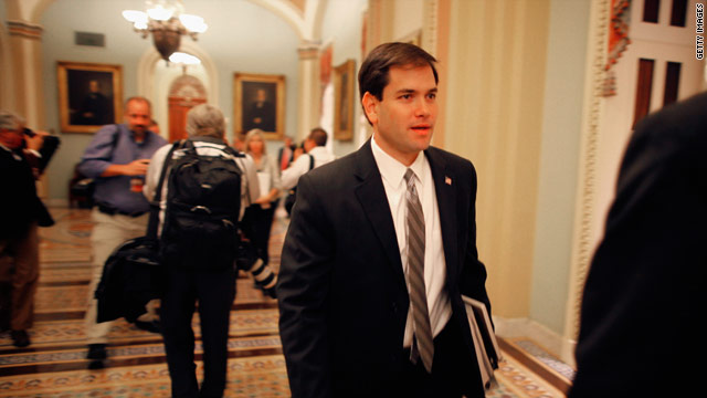 Rubio says Obama's Libyan policy too soft