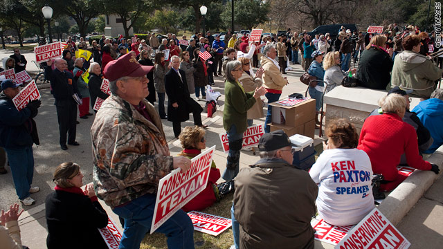 Tea Party activists speak out on budget battle