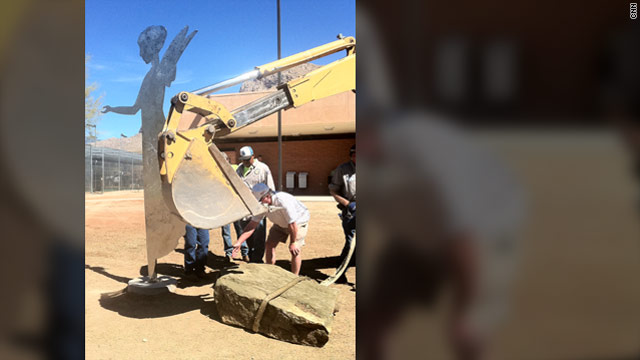 Angel dedicated to youngest victim of Arizona shooting rampage to be unveiled