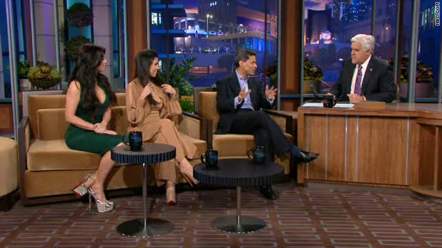 Fareed on Jay Leno with the Kardashians