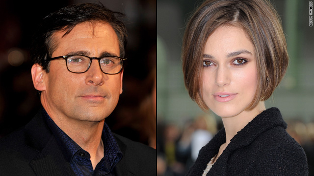 Steve Carell, Keira Knightley to star in romantic comedy?