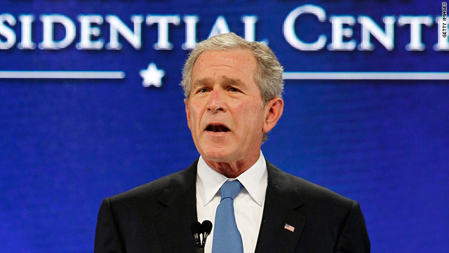 Bush warns of fallout from early Afghanistan exit