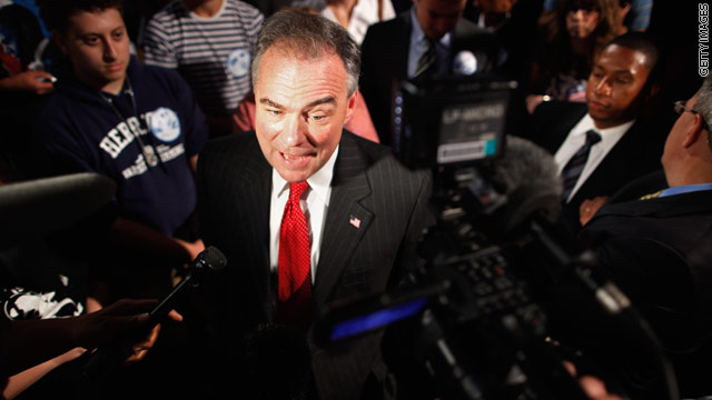 Super PAC rallies behind Kaine in Virginia