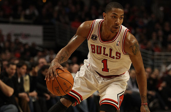 Derrick Rose, 22, has been with the Chicago Bulls since the 2008 NBA draft.