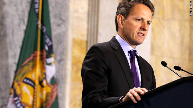 Geithner: U.S. will reach debt limit by May 16