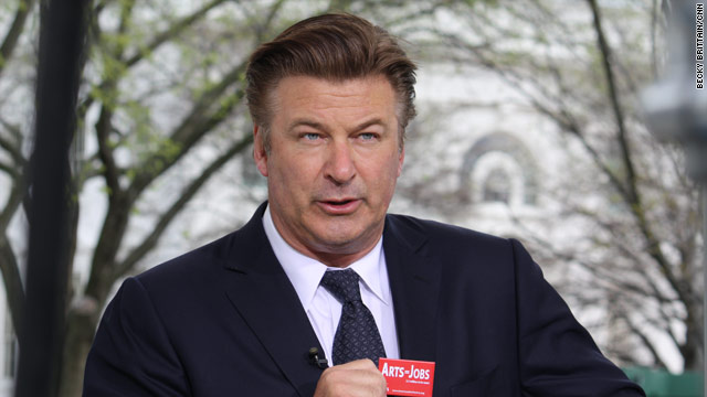 """30 Rock"" star visits CNN at the White House"