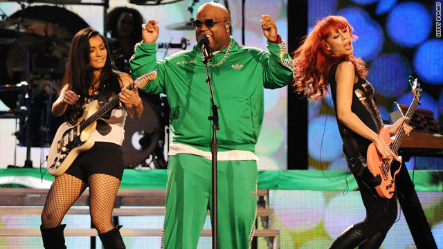 Long climb up the charts for Cee Lo's 'F**K You'
