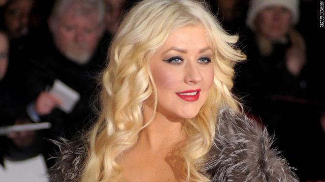 Christina Aguilera: 'I'm human, too'