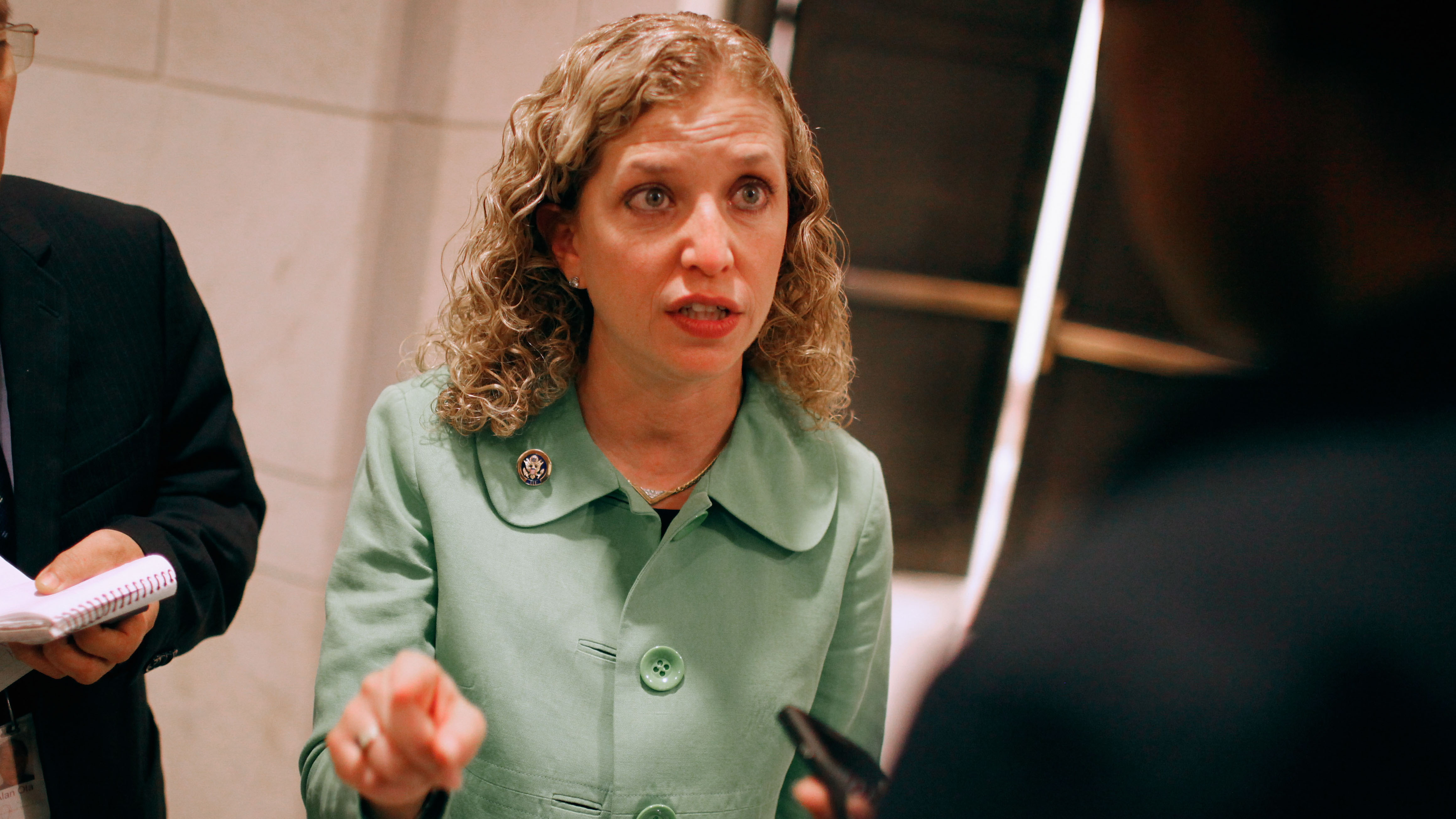 DNC Chair uses debate moment to pounce on GOP