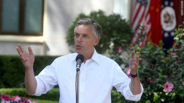 Huntsman heads to New Hampshire