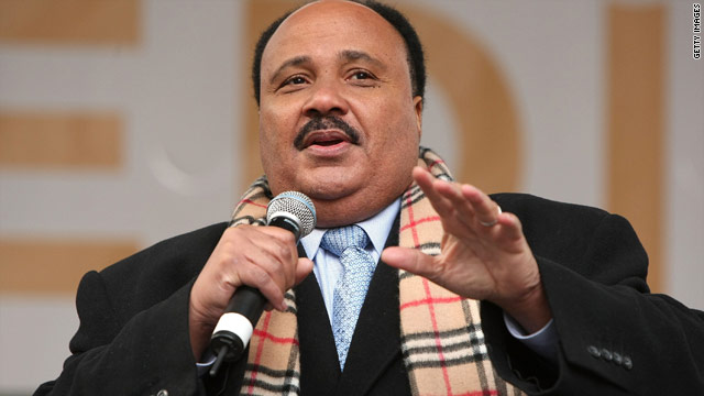 MLK's son to launch network for African Americans