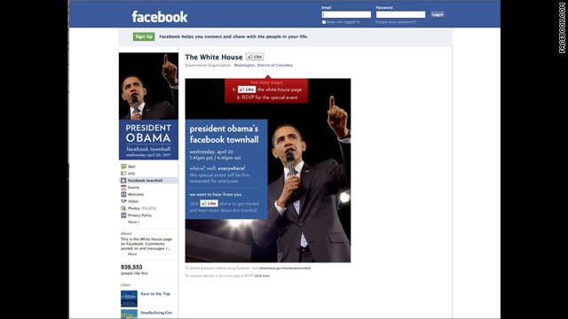 "President Obama wants to ""friend"" you"