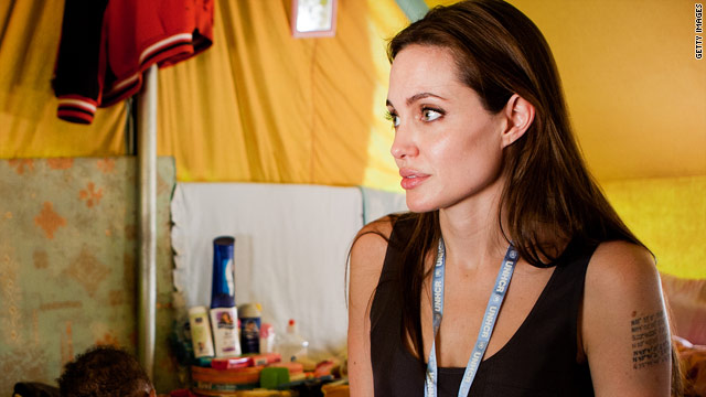 Is Angelina Jolie adopting again?
