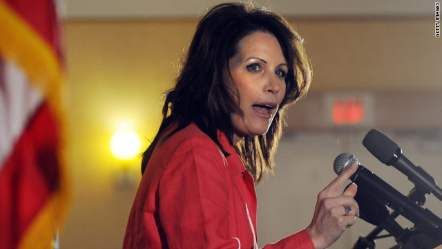 Bachmann lists her presidential creds