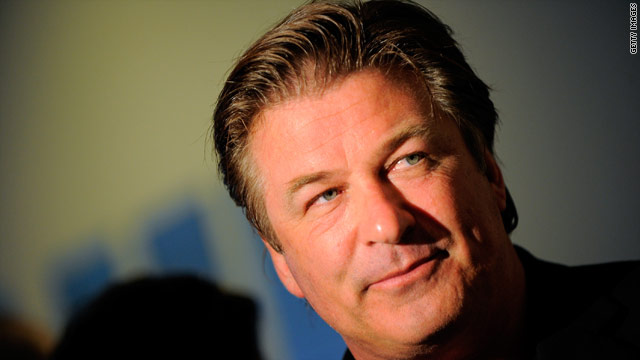 Alec Baldwin on Capitol Hill