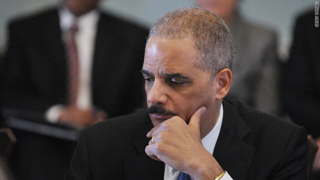 Senators pounce on Holder over report on Ted Stevens prosecution