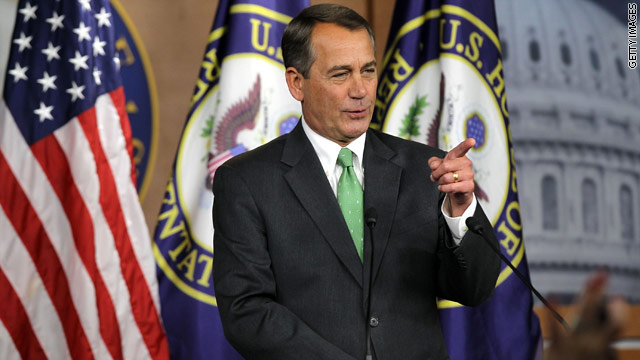 Boehner: House will vote on short-term bill