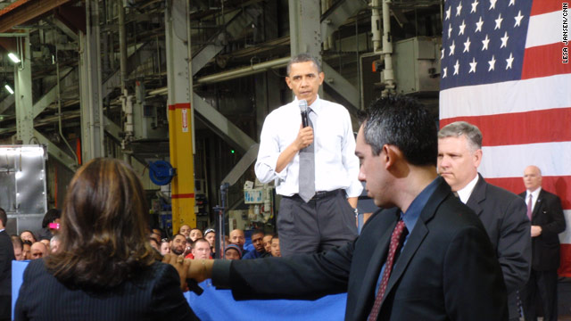 Obama talks budget and energy in PA