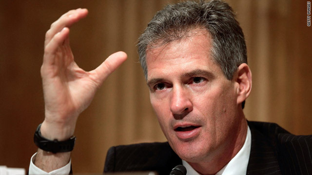 Scott Brown makes location flub