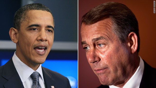 Obama calls Boehner