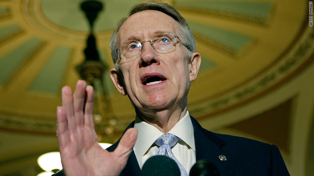 Reid: Odds of government shutdown are 50-50