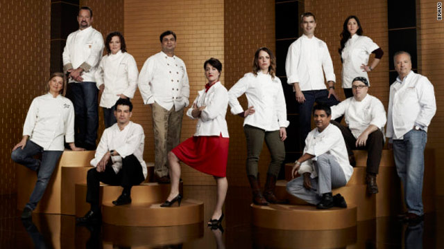 Top Chef Masters premiere: safe cupcakes and cheese grater cheekbones