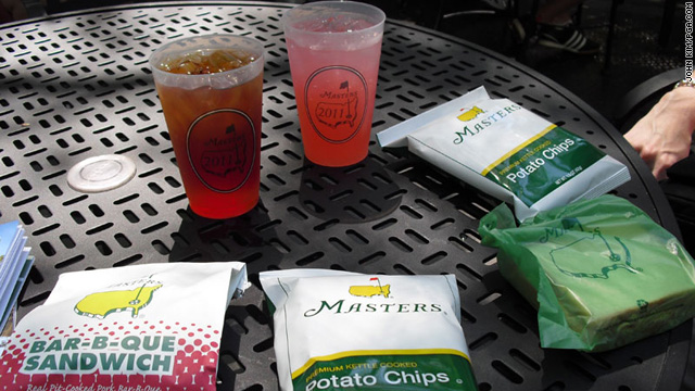 Sweet tea, pimento cheese & BBQ – munching at The Masters