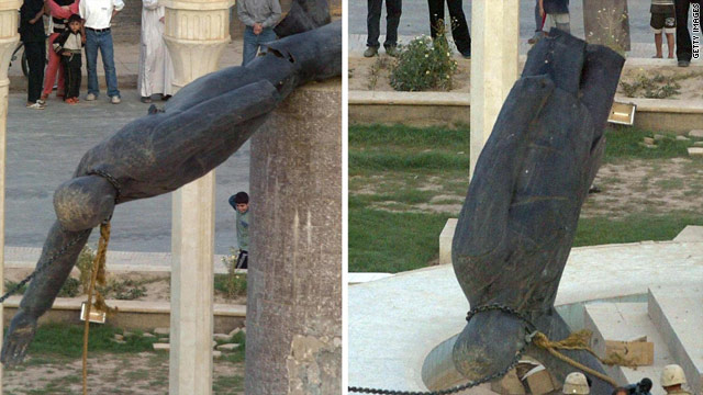 Gotta Watch: Saddam statue falls; Arthur Ashe's announcement; FLDS raid