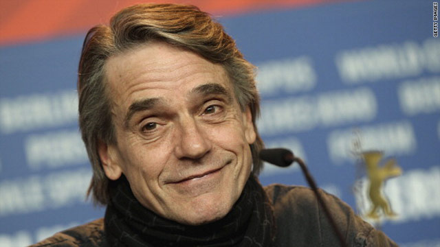 Overheard: Jeremy Irons against smoking bans