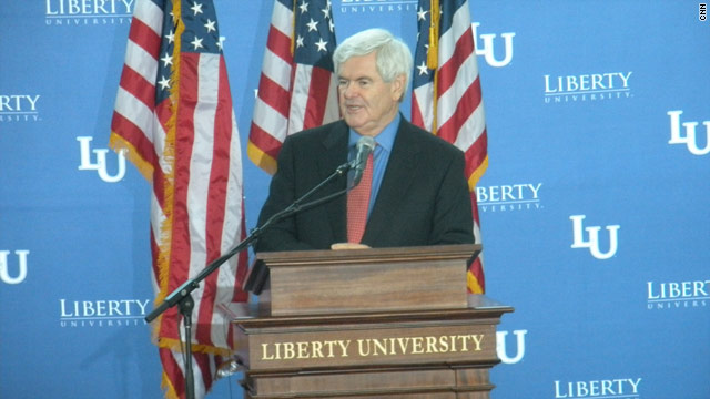 Gingrich: Obama holding troops 'hostage' over budget
