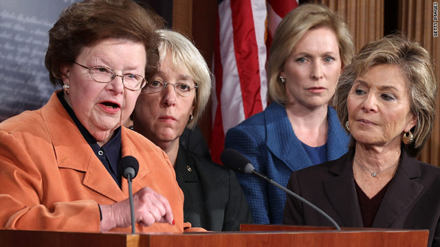 Women Dem. senators angry family planning funds part of negotiations