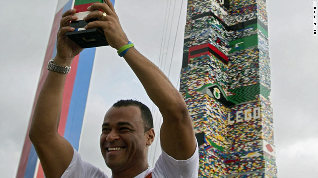 Block party: Brazil builds world's tallest Lego tower