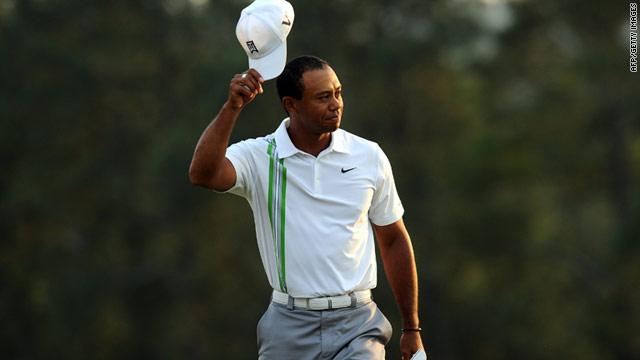 Tiger Woods is back on the prowl at Augusta.