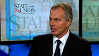Tony Blair on the unrest in Libya