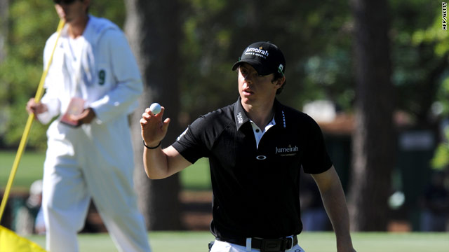 McIlroy moved further ahead with a fine third round at Augusta.