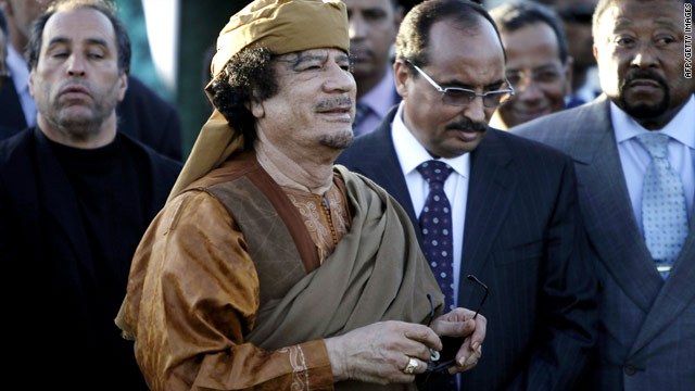 Gadhafi accepts &#039;road map&#039; to end Libyan conflict, Zuma says