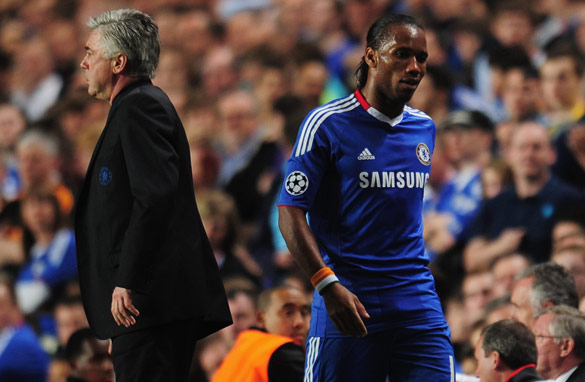 Carlo Ancelotti has persisted with Fernando Torres, despite the £50m striker being short of form.