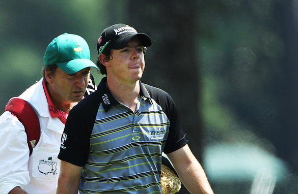 Rory McIlroy saw his game disintegrate in dramatic fashion in the final round of the Masters in Augusta.