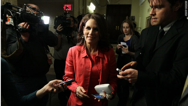 Bachmann slams weekend budget agreement