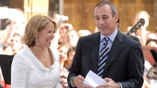 Katie Couric and Matt Lauer to reunite on 'Today'