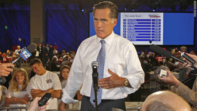 Health care law anniversary puts Romney in spotlight