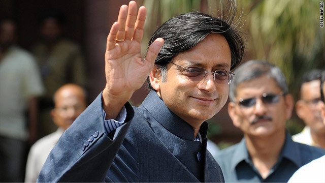 Shashi Tharoor on Libya and Indian corruption