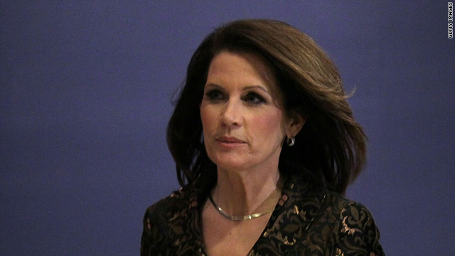Bachmann wins conservative straw poll