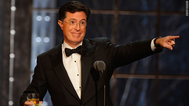 Stephen Colbert&#039;s &#039;not factual&#039; hashtagging